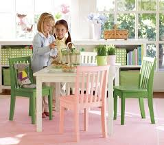 Pottery Barn Play Table and Chairs